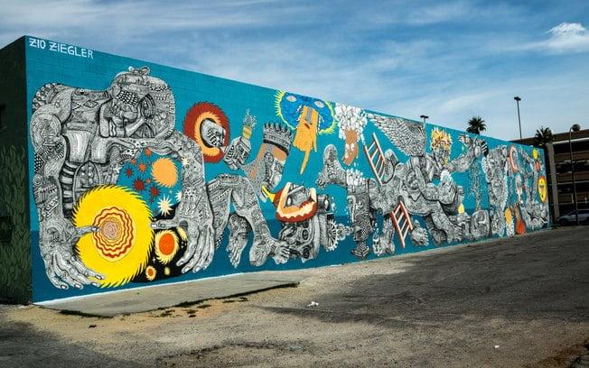 Art Murals in City Center