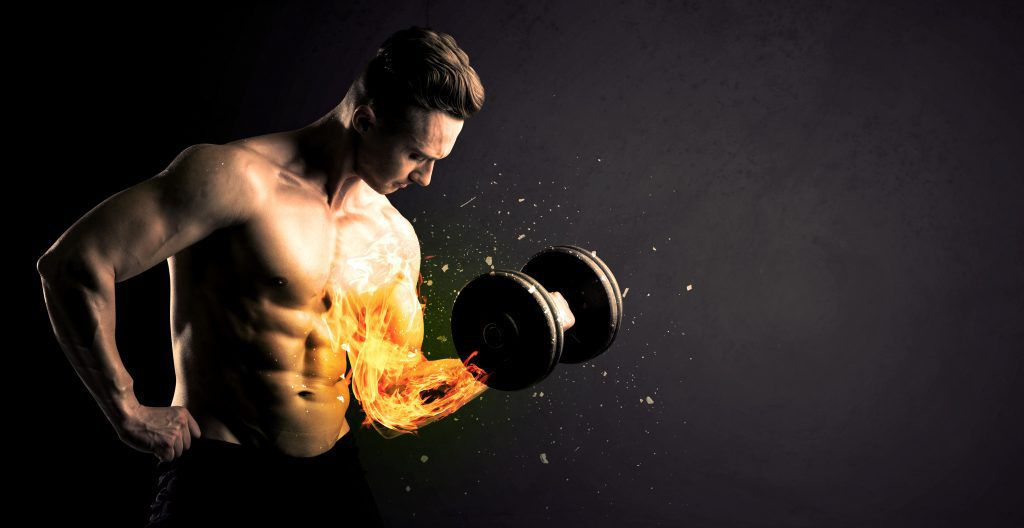 Man Muscle Burning