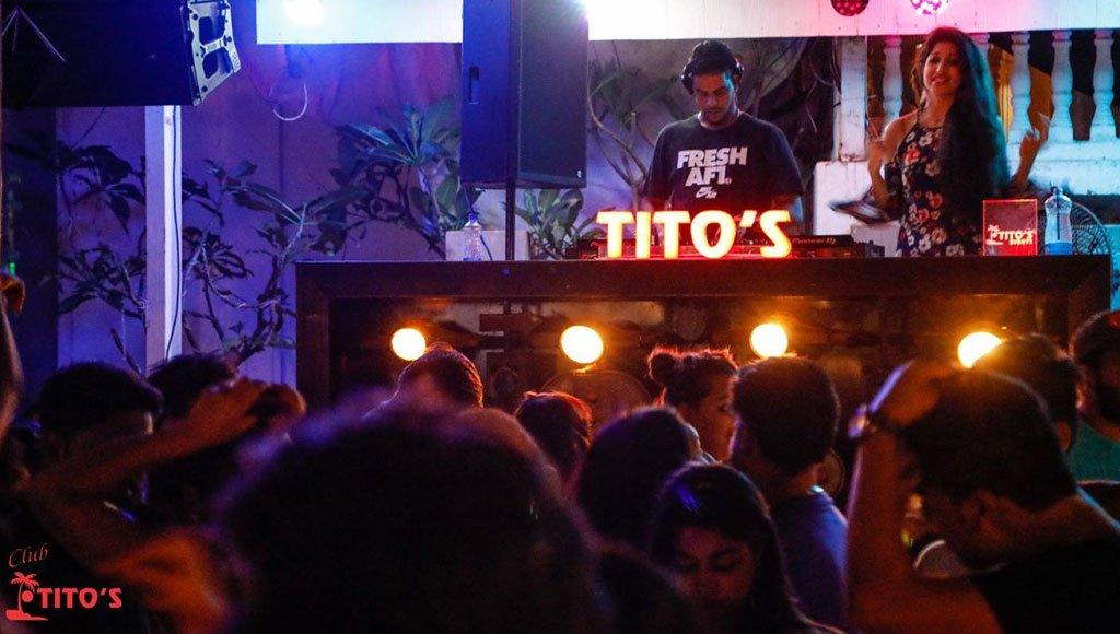 Tito's street nightclub - Goa